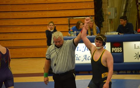 Lancer grapplers open season with home win