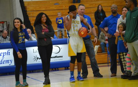 Johns becomes school's all-time leading scorer