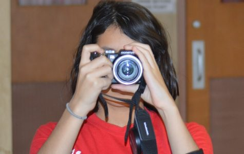 Freshmen Jessica Flores brings an artistic eye to her photography.