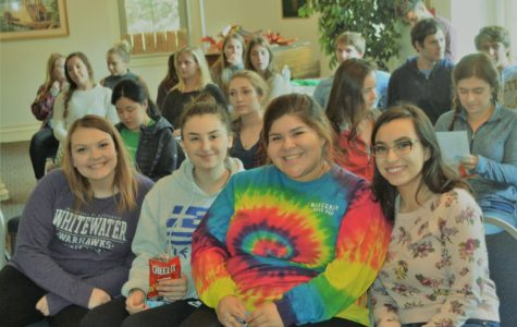 Senior Retreat: Gathering together as a class