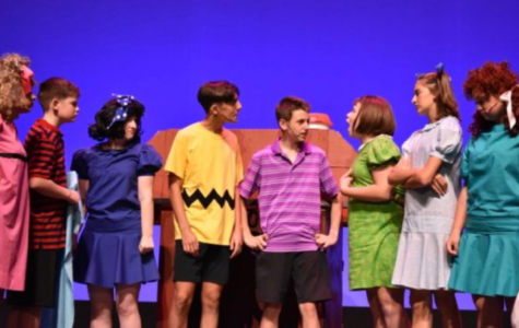 Wylie acting as the main character of Charlie Brown, as Charlie Brown