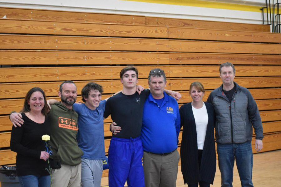 Wrestlers+honored+on+senior+night